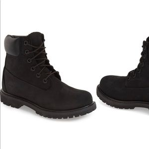 Timberland Black Nubuck boots